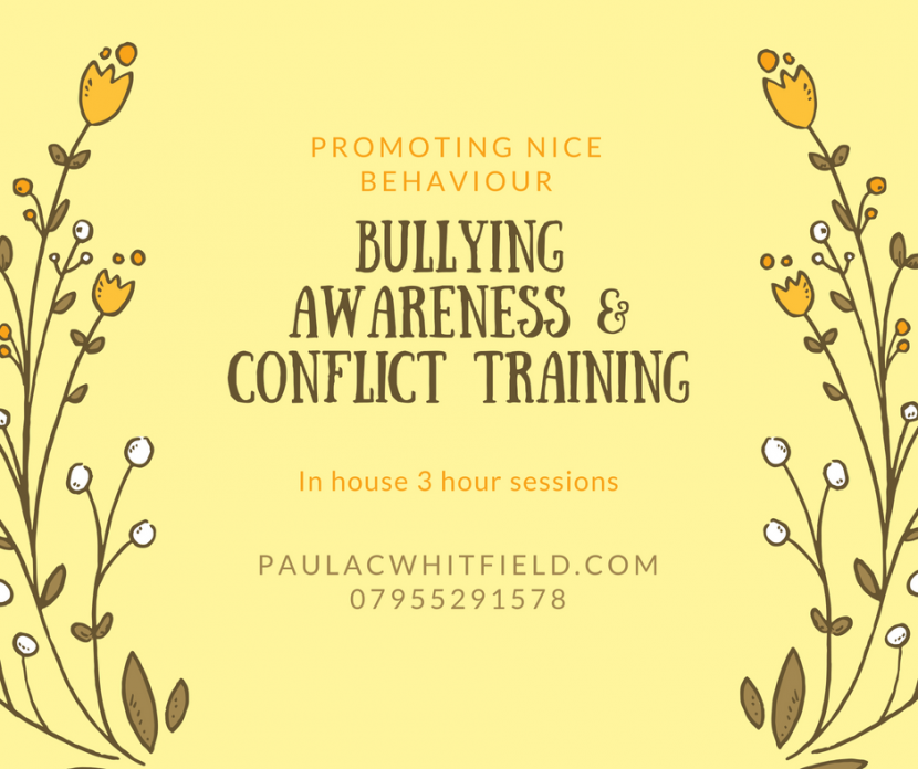Bullying awareness & Conflict training